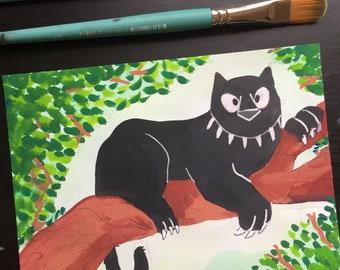 Black Panther - Original Art