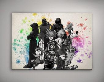 Organization XIII Poster, Kingdom Hearts, Kingdom Hearts Poster, Kingdom Hearts Art, Kingdom Hearts Disney, Organization 13