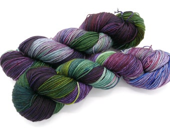 Iris You Were Here Lovely Hand Dyed Sock Yarn - In Stock