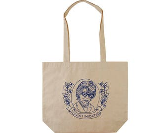 Cotton Tote | Maxine Waters | UNINTIMIDATED