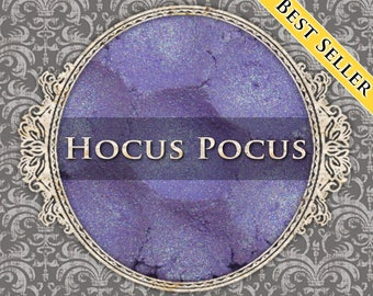 HOCUS POCUS Shimmer Eyeshadow: Samples or Jars, Light Purple, Green Duochrome, Loose Eyeshadow, Vegan Cosmetics, Ships Out in 5-8 Days