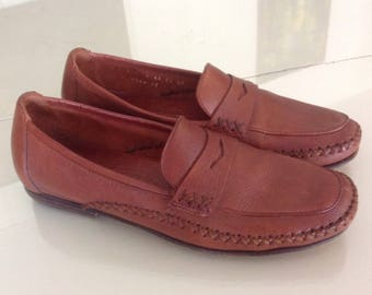 Vintage Cole Haan Tan Loafers