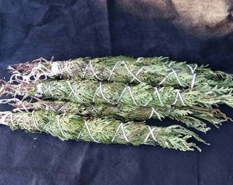10 inch Western Red Cedar Smudge Sticks