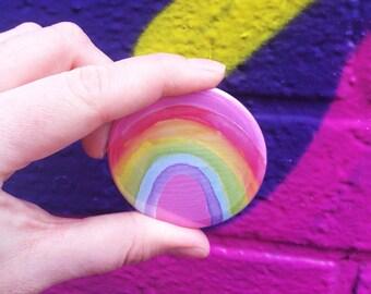 Rainbow 58mm Big Badge