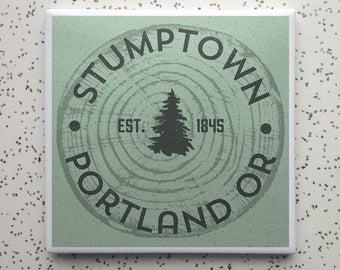 Pine State Portland OR Coaster