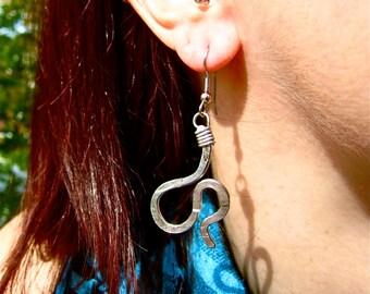 Pinch Bicycle Spoke Earring
