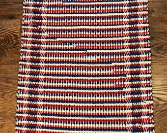 Hand Woven Rag Rug