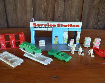 Service Station, Car Playset