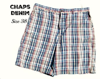 men's  plaid shorts, Cargo shorts , men's long shorts, casual shorts, Size 38,    # 2