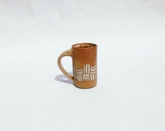 Vintage ceramic mug   vintage mug   vintage pottery   vintage ceramics   ABLE SHOPPE