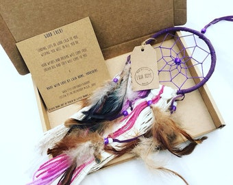 Good Luck Gift, Dream Catcher, Good Luck Present, Lucky Charm, Friend Gift, Good Luck Gift for her, Gift For Her, Friendship Gift,