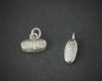 Norco V3605 PENDANT CHARM / pill necklace / medical school / nursing school / nurse gift / pharmacy tech / hydrocodone / PillBling