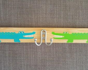 Kids Wall Hanger Alligator