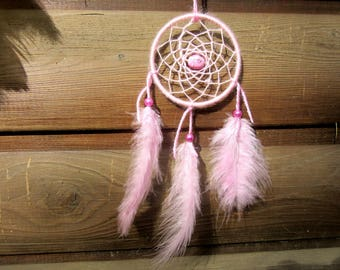 Pink dream catcher / actual 20 cm