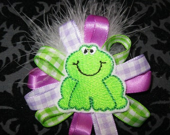 Little Froggy Alligator clip