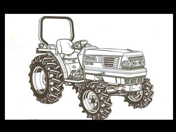 kubota kubota engine v2203 dsl 4 cylinder service manual