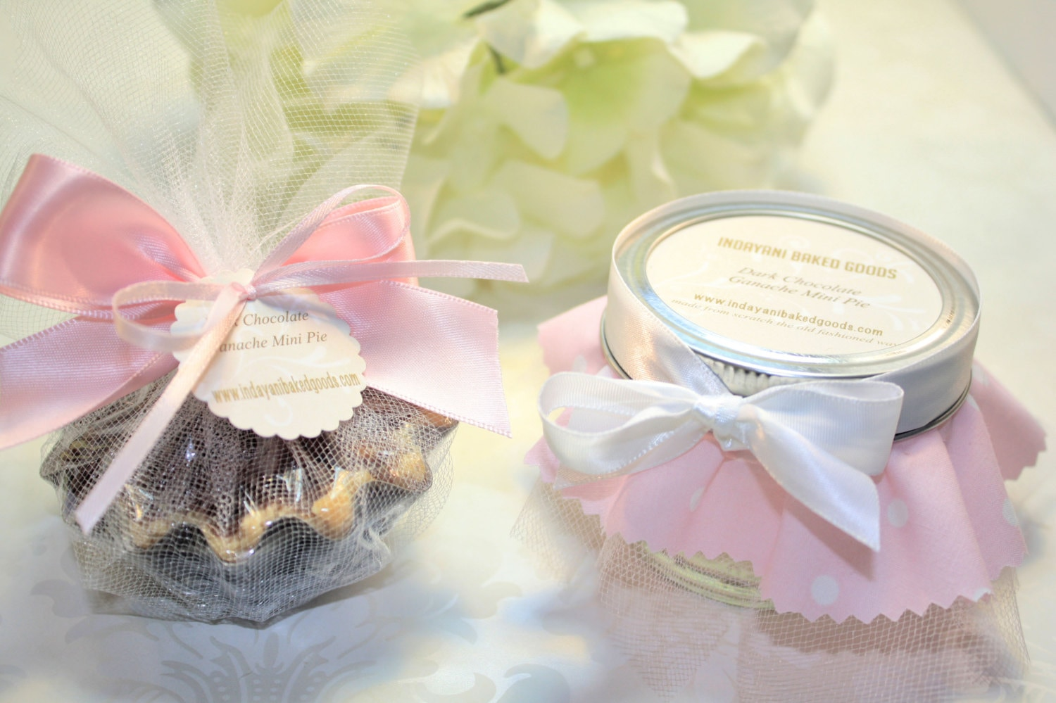 Shower Favors, Pie in the jar Favor - 24 Pie in the jar favors ...