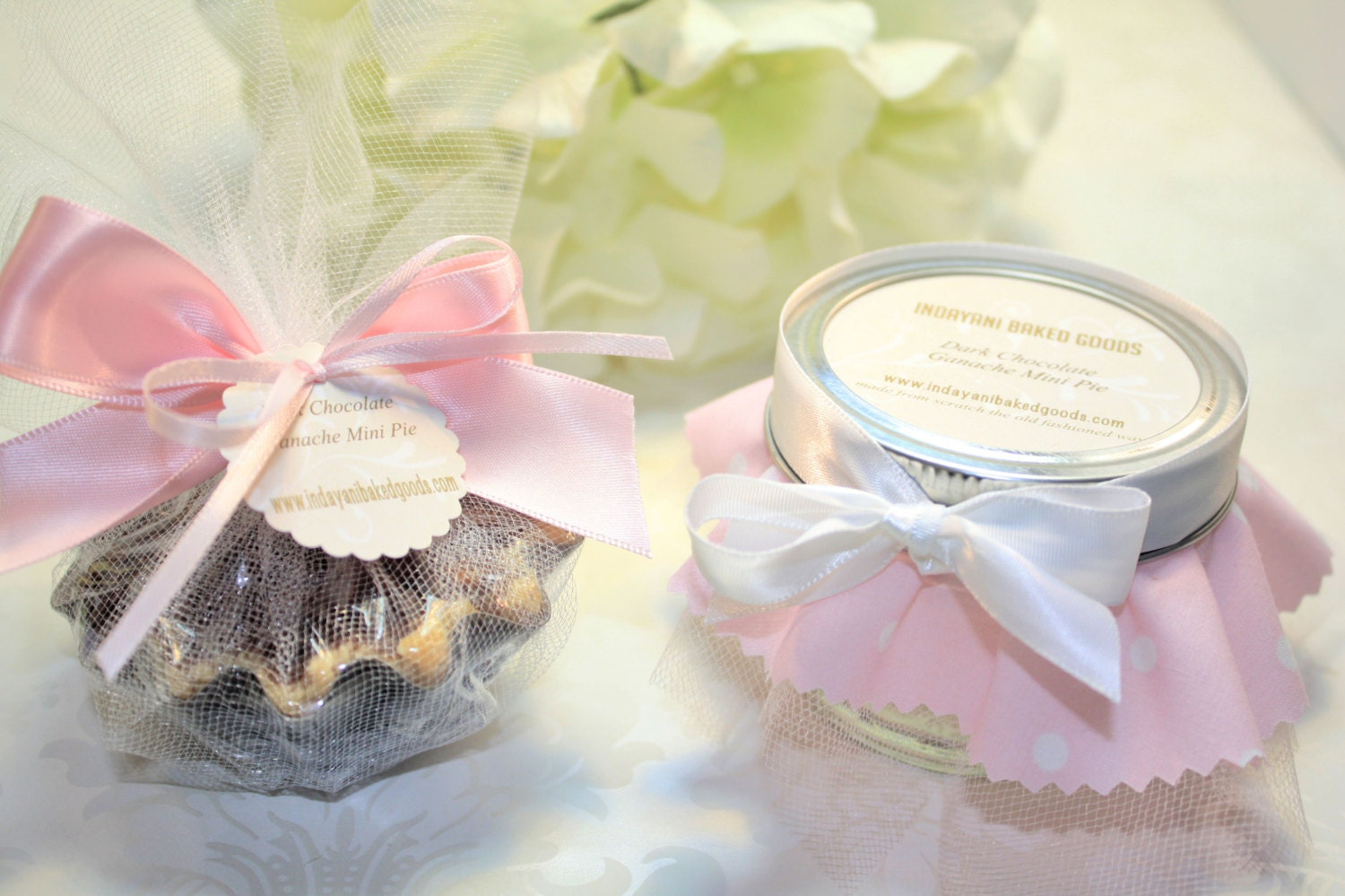 Wedding Favors, Pie in the jar Favor - 24 Pie in the jar favors