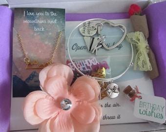 Happy birthday box, you are beautiful, birthday gift box, birthday care package, care package for her