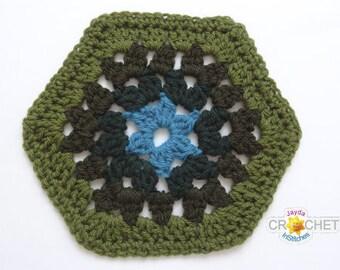Granny Hexagon Crochet Pattern - Make a Blanket!