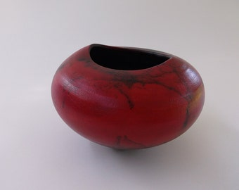 I am back in studio,  Free shipping.  Horse Hair Raku by Nolan Windholtz