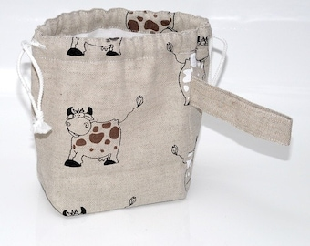 Knitting Project MINI Bag. Special KnitterBag design.