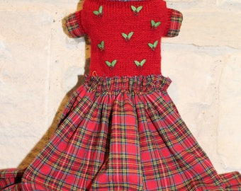Mistletoe Dog Dress
