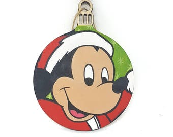 Hand-painted Christmas Bauble - Mickey