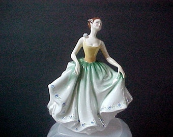 """Royal Doulton the Cynthia  HN 2440  7-1/4"""" tall   Mint condition, no chips, scratches, reparis or crazing"""