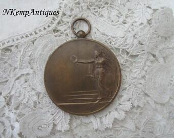 Old  medal /pendant signed H.U