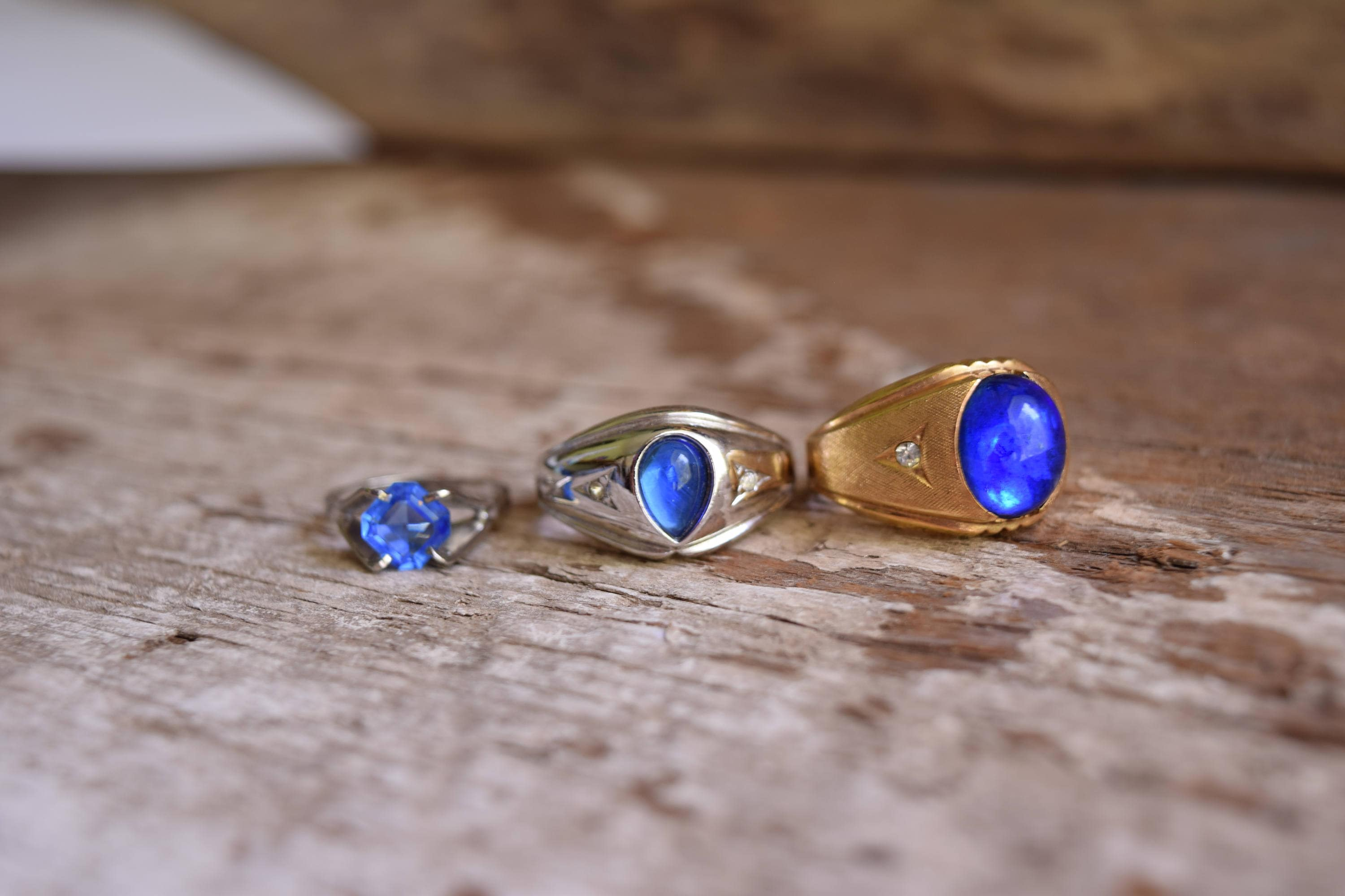 yellow ct ring stone jewellery product antique rings blue and gold ringmorpeth pearl