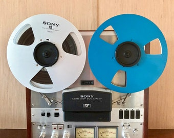 Vintage Sony TC-756 Reel to Reel Tape Recorder/Player! Best Sound Imaginable!!! HiFi Stereo - ANALOG SOUND! Vintage Mint Sony Recorder 1974