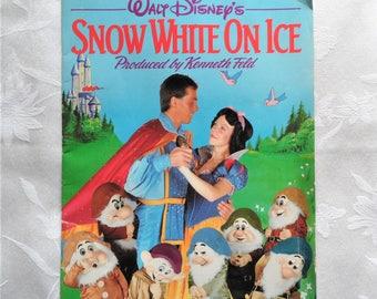 Walt Disney Snow White on Ice Souvenir Program 1987 Kenneth Field