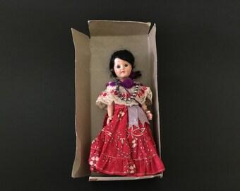 Vintage Sleepy Eyes Doll Mexico