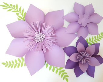 Paper Flower Template PDF/Digital Version Sunny Flower