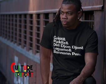 Haitian Shirt | Haitian Brunch Shirt| Brunch Shirt| Griot Shirt
