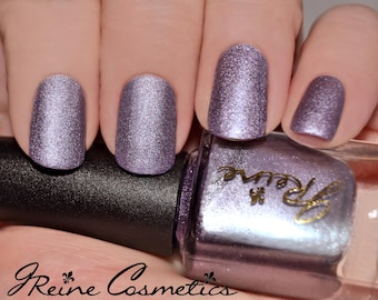 Lavender Metal - Purple Metallic Matte Nail Polish