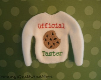 Elf Doll  Sweater