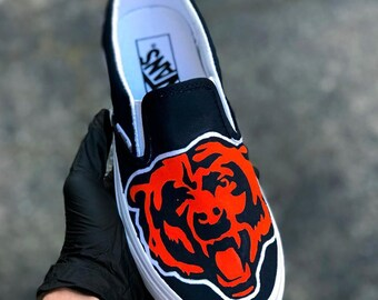 Custom NFL Vans Slip-On