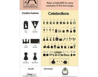 Cricut - Cartridge - Celebrations