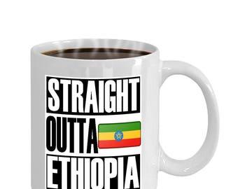 Straight Outta Ethiopia Gift Mug