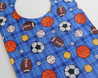 Sports Baby/Toddler Bib New Handmade