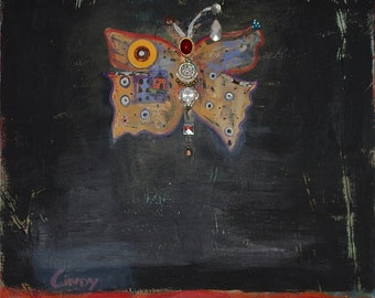 Madame Butterfly original painting
