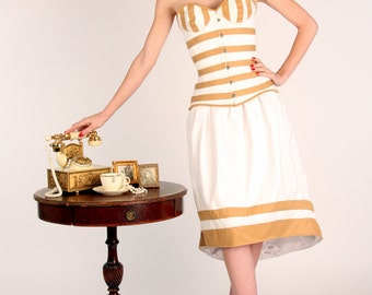 The Teddy Skirt. Exclusive bespoke gown skirt from The Old Hollywood Couture Collection. Vintage styled skirt made personally for you