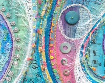 WoW! : framed textile art
