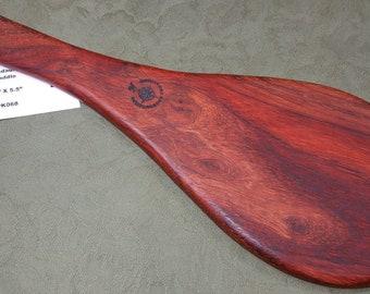 PADAUK Miss Rose Paddles Exotic Hardwood Spanking Paddle - Jokari Paddle Style PK068