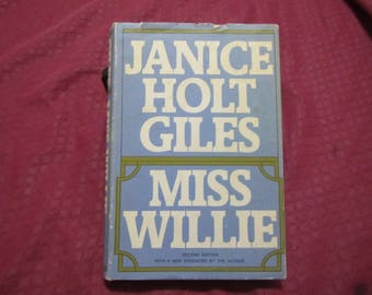 1971 ** Miss Willie ** Janice Holt Giles **sj