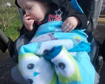 Car seat blanket, stroller blanket, carseat blanket, baby blanket, boys blanket, girls blanket, baby shower gift, safe car seat blanket