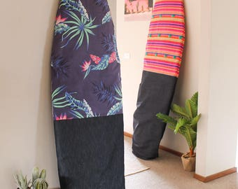 Handmade / waterproof surf board bag 5.6 to 9.4 and kids size (under 5.5)