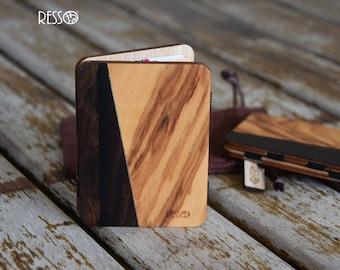 LIMITED EDITION - Wooden wallet, credit card wallet, woman's & men's wallet, slim wallet, magic wooden wallet, wooden wallet, wood